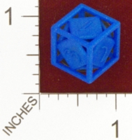 Dice : MINT24 SHAPEWAYS CLSN OPEN DIE D6 01