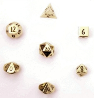 Dice : METAL GOLD MULTI 01 CRYSTAL CASTE 01