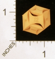 Dice : MINT28 SHAPEWAYS AEGIDIAN FLASH RHOMBIC D12 01