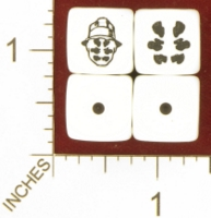 Dice : MINT26 CHESSEX DC WATCHMEN RORSCHACH 01