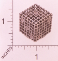 Dice : MINT23 SHAPEWAYS OPRESCO STEEL CAGE DICE 02