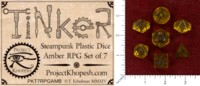 Dice : MINT48 PROJECT KHOPESH TINKER DICE II AMBER