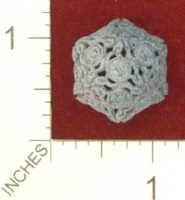 Dice : MINT25 SHAPEWAYS JENGINEER 20 SIDED DIE WITH LEAVES 01