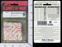 Dice : MINT17 FLAMES OF WAR DESERT RATS 01