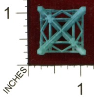Dice : MINT43 SHAPEWAYS MCTRIVIA D6 GRID DIE 14 04
