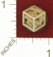 Dice : MINT25 SHAPEWAYS YOUKNOWWHO4EVA HAPPY EMOTICON DIE 01
