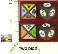 Dice : MINT26 MATTEL SIMPSONS SCENE IT 01