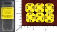 Dice : MINT47 DICE GAMES INC LOTTO DICE
