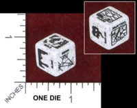 Dice : MINT48 CHESSEX DUNGEON HAZARDS