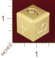 Dice : MINT21 ACE PRECISION ROUNDED NUMBERED