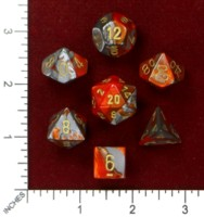 Dice : MINT46 CHESSEX 2015 POLY COLORS 05