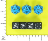 Dice : MINT57 MODIPHIUS Q WORKSHOP STAR TREK ADVENTURES SCIENCES
