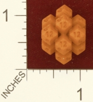 Dice : MINT27 SHAPEWAYS DIZINGOF HONEYCOMB D12 01