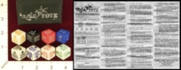 Dice : MINT22 MARSHALL GAMES PRODUCTIONS LTD ROLA TOTE HORSE RACE 01