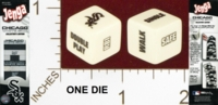 Dice : MINT23 USAOPOLY CHICAGO WHITE SOX JENGA