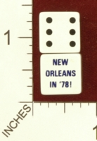 Dice : MINT26 UNKNOWN NEW ORLEANS IN 78