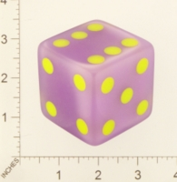 Dice : MINT21 CRISLOID PURPLE TRANSLUCENT 02