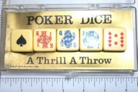 Dice : MINT4 CRISLOID POKER