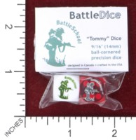 Dice : MINT45 BATTLESCHOOL BATTLEDICE TOMMY DICE 03