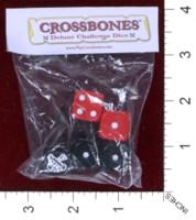 Dice : MINT39 DICE ROLL GAMES CROSSBONES
