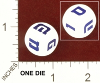 Dice : MINT27 UNKNOWN WOOD HEBREW LETTERS 01