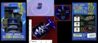 Dice : MINT33 AVIV JUDAICA LASER DREIDEL PLAYS AXEL F BY CRAZY FROG 01