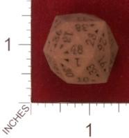 Dice : MINT33 SHAPEWAYS CORNERSTONE GAMING 48 SIDED DIE REGULAR 01