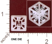 Dice : MINT28 SHAPEWAYS MCTRIVIA 4D D48 01