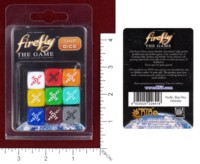 Dice : MINT45 GALE FORCE NINE FIREFLY