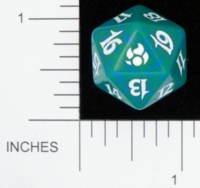Dice : D20 OPAQUE ROUNDED SPECKLED MTG LIFE COUNTERS MORNINGTIDE 05