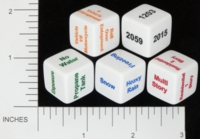 Dice : NON NUMBERED OPAQUE ROUNDED SOLID SCENARIODICE DOT COM 06 FIRE RESCUE DICE 01