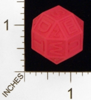 Dice : MINT25 SHAPEWAYS FRIZ LETTER DICE 01