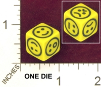Dice : MINT27 ERIC HARSHBARGER EMTICON DIE 01