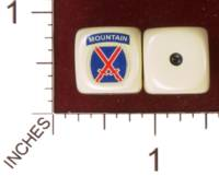 Dice : MINT30 YAK YAKS US ARMY 10TH MOUNTAIN DIVISION 01