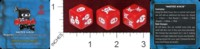 Dice : MINT41 GREENBRIER GAMES NINJA DICE MASTER NINJA