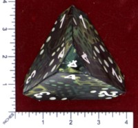 Dice : PAPER D04 MY DESIGN NEW STYLE NUMBERED 2015 GEN CON HAT CAMO