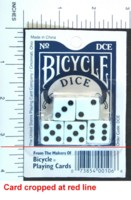 Dice : DUPS03 BICYCLE 01
