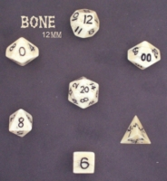 Dice : STONE MULTI CC BONE