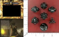 Dice : MINT52 NORSE FOUNDRY ALUMINUM BLACK