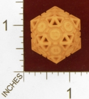 Dice : MINT27 SHAPEWAYS AEGIDIAN COMPANIONABLE D20 01