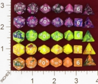 Dice : MINT19 CRYSTAL CASTE TOXIC MINI POLYS 01