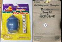 Dice : MINT4 DISNEY HUNNY POT DICE GAME