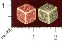 Dice : MINT43 TINDERBOX ENTERTAINMENT DICE EMPIRE SERIES 1 HENNA TEMPEST