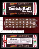 Dice : MINT45 TDC GAMES THE TOOTSIE ROLL DICE GAME