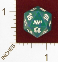 Dice : D20 OPAQUE ROUNDED SPECKLED MTG LIFE COUNTERS M11 05
