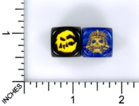 Dice : MINT61 DAVID RIFFAULT WARHAMMER BAD MOON AZTEC SKULL