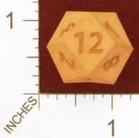 Dice : MINT27 SHAPEWAYS DIZINGOF 2 SIDES RHOMBIC D12 01