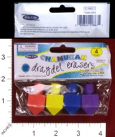 Dice : MINT33 RITE LITE CHANUKAH DRADEL ERASERS 01