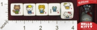 Dice : MINT24 USAOPOLY HELLO KITTY YAHTZEE 01