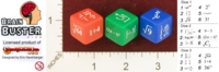 Dice : MINT24 GAMESTATION ERIC HARSHBARGER BRAIN BUSTER 01